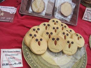 Cookies that look like owls