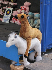 Stuffed Animals in Love